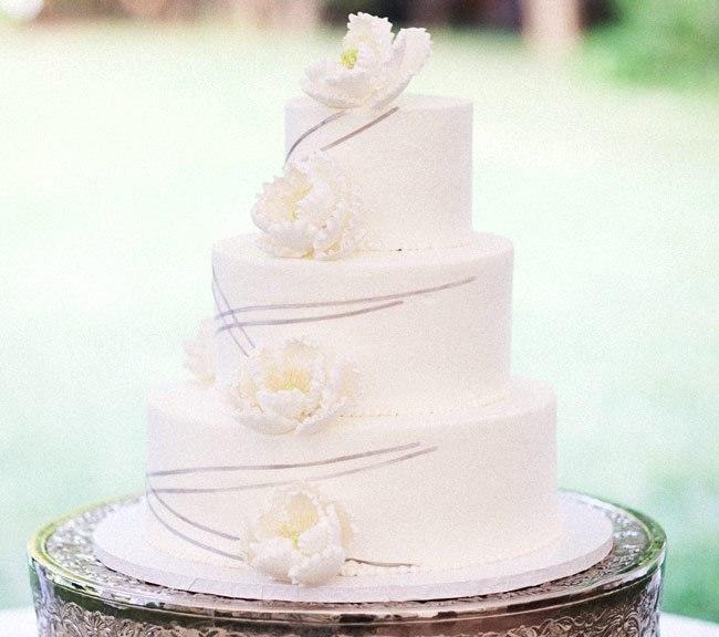 mEGXQNT 5bY - Золотые и серебряные свадебные торты 2016 (70 фото)