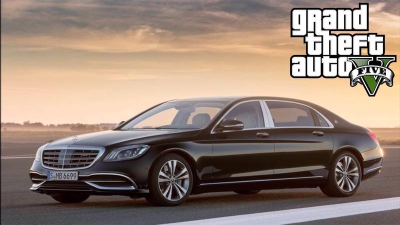 Mercedes Maybach - GTA 5 MODS