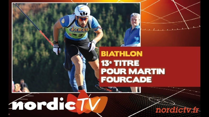Biathlon Fourcade et Braisaz champions de France de sprint