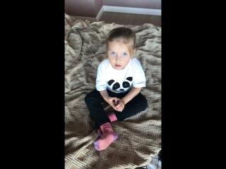 Дочка племянницы объясняет слова из из песни