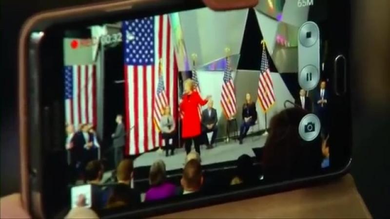 US Präsident Trump verspricht- Hillary Clinton wird bald ins Gefängnis wandern(1)