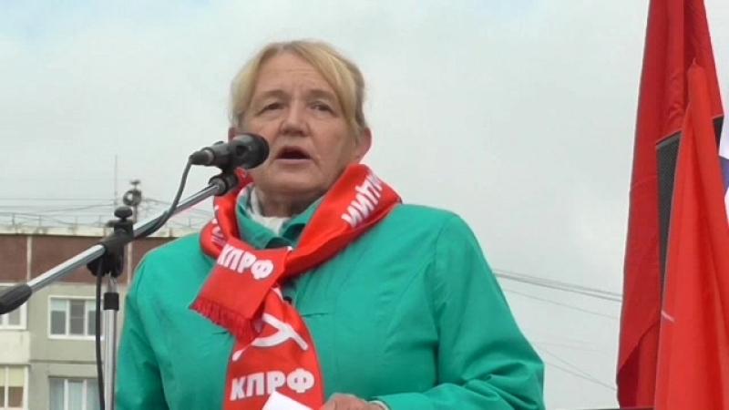 05. Митинг в Омске. от 22.09. 18 г. Мартынова оператор А.В. Морозов.