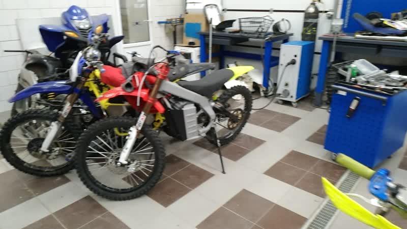 Электроквадроцикл ATV Yamaha Warrior 350