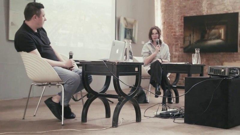 Public talk: Светлана Баскова   Павел Отдельнов (FUTURO Gallery 20.05.18)