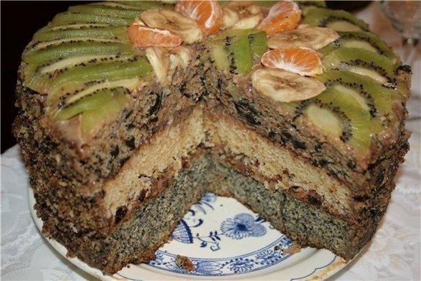 Королевский торт Ингредиенты: для теста ●3 яйца ●1,5 ст сахара ●1,5 ст
