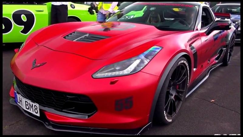 Chevrolet Corvette 🔥 Подборка 🔥 C7, Z06, ZR1 🔥 Muscle car (Мускул кар) 🔥 Тачки из Форсаж