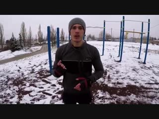 ❄️HOW TO IMPOSSIBLE MUSCLE UP❄️