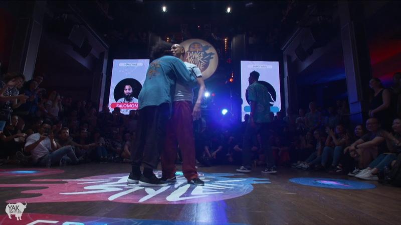 SALAH vs. SALOMON Top 8 | Red Bull Dance Your Style PARIS | YAK BATTLES