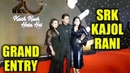 Grand Entry Of Shahrukh Khan Kajol Rani Mukerji At 20 Years Of Kuch Kuch Hota Hai Celebration