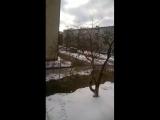 АБД засыпает грязный снег чистым.