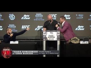 ПОЛНАЯ ПРЕСС КОНФЕРЕНЦИЯ ХАБИБА И КОНОРА НА РУССКОМ! UFC 229