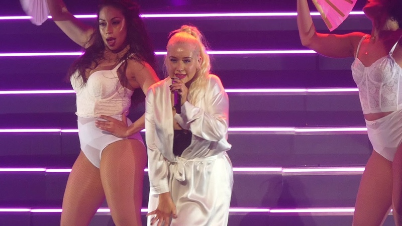 Lady Marmalade Christina Aguilera@MGM National Harbor Oxon Hill, MD 9/30/18