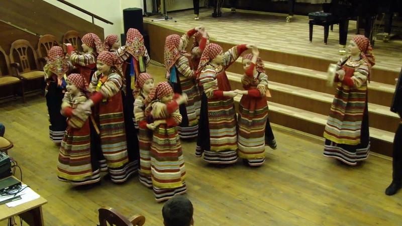 Фестиваль Москва объединяет друзей 28 01 2017 Прялица-кокорица