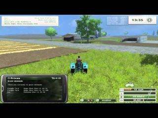Let's play Farming Simulator 2013 - Central Kansas часть 2