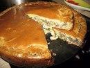 Очень сытный пирог с капустой и мясом