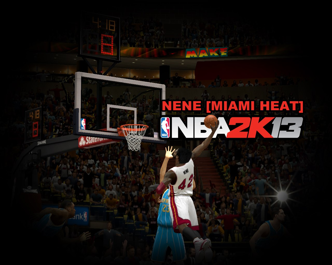 NENE from MIAMI HEAT NBA2K13
