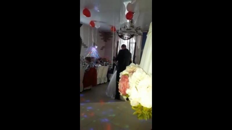 29 09 2018 свадьба Сергея и Анечки танец молодых Прекрасная красивая пара