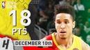 Malcolm Brogdon Full Highlights Bucks vs Cavaliers 2018.12.10 - 18 Pts, 5 Ast, 5 Rebounds!