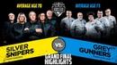CS GO Silver Snipers vs Grey Gunners Dust2 Grand Final Highlights Senior World Cup