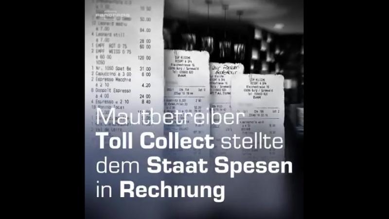 Der LKW-Mautbetreiber Toll Collect hat dem Bund über Jahre zu hohe Abrechnungen gestellt.