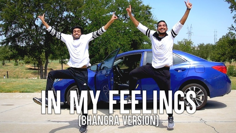 In My Feelings (Bhangra Version) - Choreography by Abin Thomas Chris Rajan
