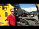ЧТО В КАБИНЕ Freightliner Columbia АМЕРИКАНСКИЙ ГРУЗОВИК ИЗНУТРИ