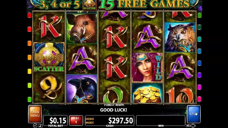 Видеообзор игрового автомата Forest Nymph (Лесная нимфа) от Casino Technology