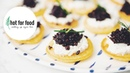 CORNMEAL BLINIS WITH VEGAN CAVIAR | hot for food