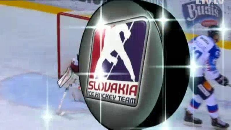 Latvijas hokejisti pret Slovākiju turpina zaudējumu virkni pārbaudes spēlēs Raksts.mp4