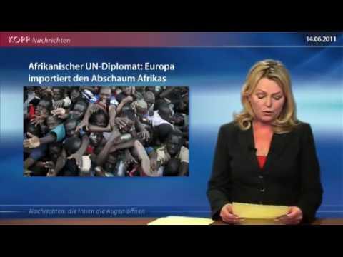 UN Diplomat Serge Boret Bokwango Flüchtlinge sind der Abschaum und der Müll Afrikas
