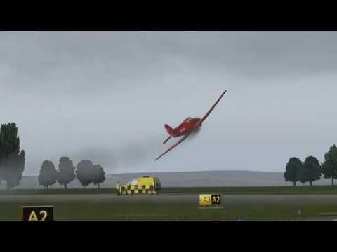 Yak-18T Aerobatic Display | LHSim Sármellék | X-Plane 11