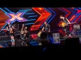 Группа JORYJ KLOC Украинская народная песня Бда Беда х_фактор 9. ЧЕТВЁРТЫЙ кастинг (Премьера 2018) 4K