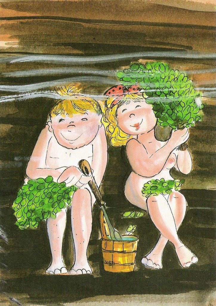 Прикольные картинки девчонки в бани