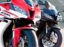 Спортбайк Honda CBR600RR-2012 получил новую цветовую схему.