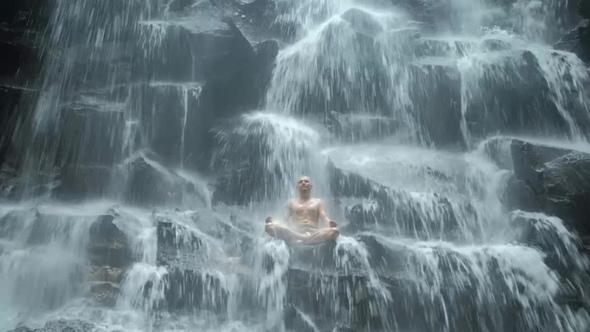 водопад йог