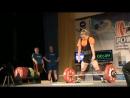 Women 72kg deadlift