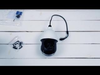 Распаковка поворотной камеры Nobelic-4204Z-SD