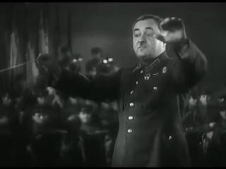 Краснознамённый ансамбль п/у А.В. Александрова. Съёмки 1943 года