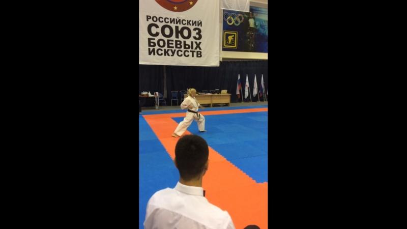 Чемпионат России по Всестилевому Каратэ Ката СЗ-соло