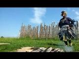 Как Баба Яга прыгает через костёр