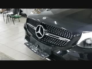 Откидной номер на Mercedes-Benz GLC