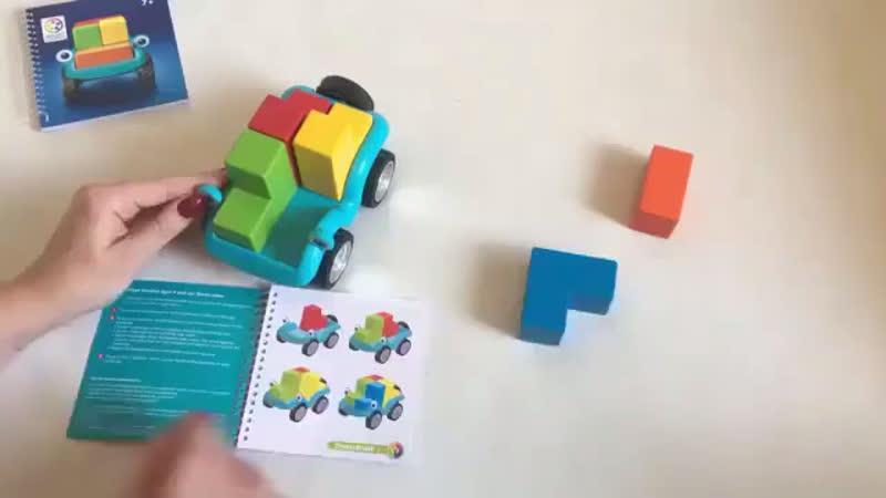 Логическая игра Bondibon Smart Тачка