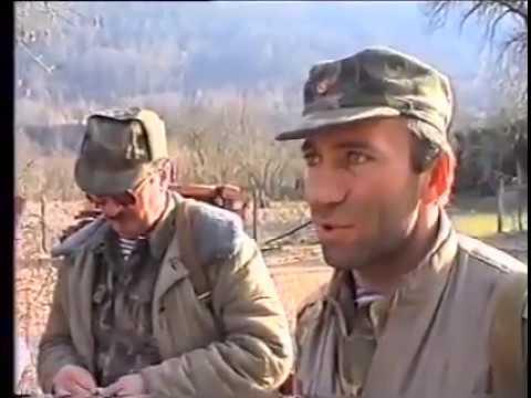 Вход гудаутских формирований в село Лата Гульрипшского района.