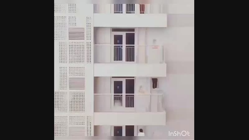 Интересный метод эвакуации!