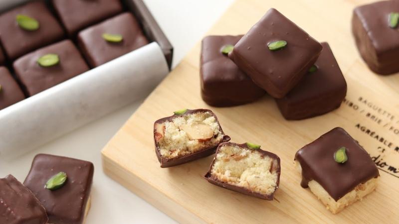 チョコがけクッキーの作り方&ラッピング*バレンタインレシピ Chocolate Cookies 653