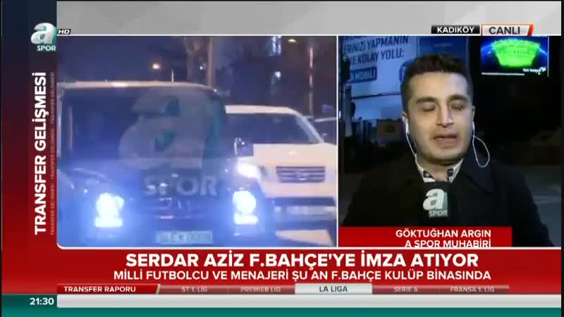 Serdar Aziz ve Tolgay Arslan Fenerbahçede Fenerbahçe Transfer Raporu