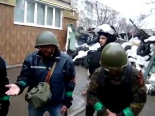 Интервью с защитниками Славянска и Красного Лимана 13 04 2014 Украина