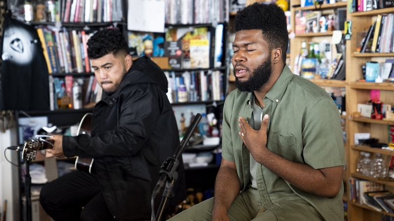 Khalid Tiny Desk Concert