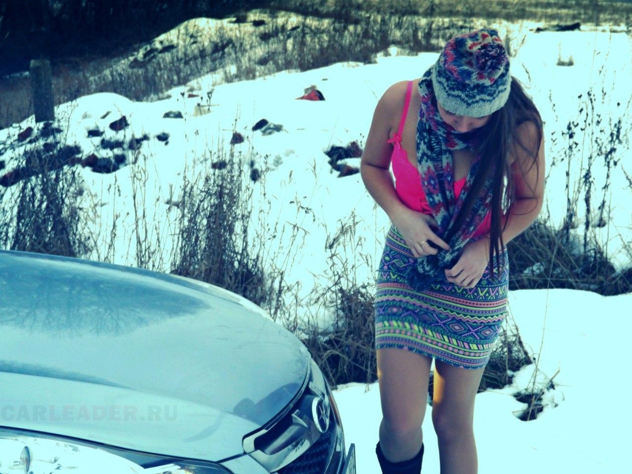 Subaru Legacy 2012 и Натали Зольникова