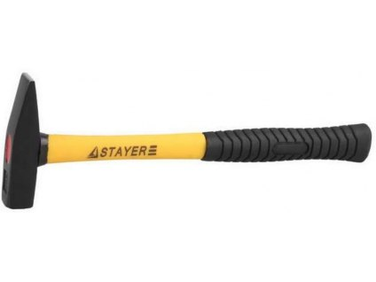 """Молоток """"STANDARD"""" слесарный кованый с двухкомпонентной фиберглассовой ручкой   STAYER"""
